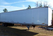 extra large storage trailers available
